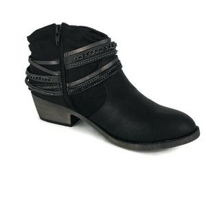 SO Squad Women's Ankle Boots Black 10